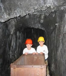 Pushing an Ore Cart